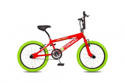 20 Freestyle Fiets Rood