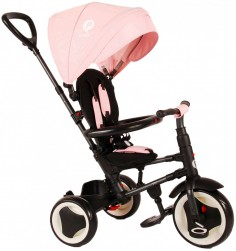 QPlay Driewieler Rito 3 in 1 Roze